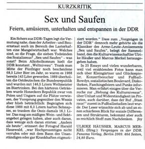 sueddeutsche zeitung rezension DDR