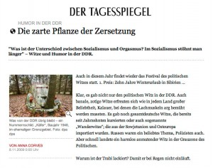 DDR Tagesspiegel Rezension