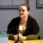 Claudia Rusch bei der Buchvorstellung Medien in der DDR