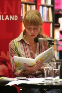 Anja Sommer liest aus Still geboren
