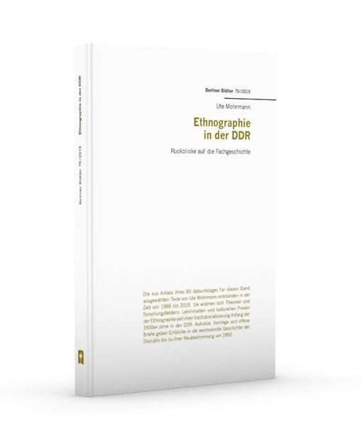 Ethnografie in der DDR - Ute Mohrmann